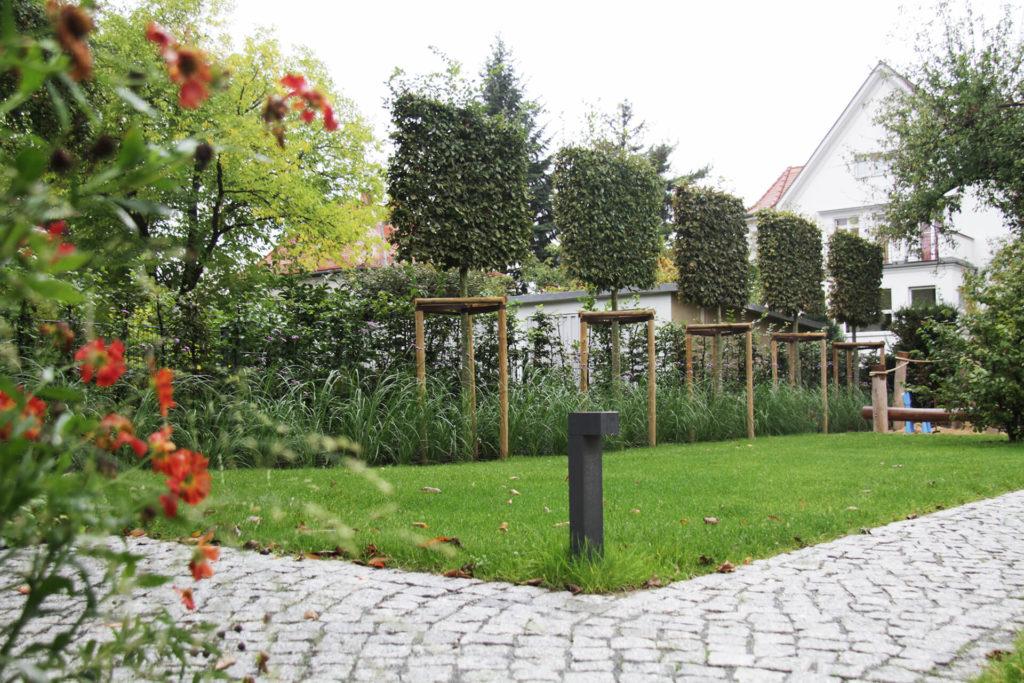 Stadtgarten mit Wasserspiel