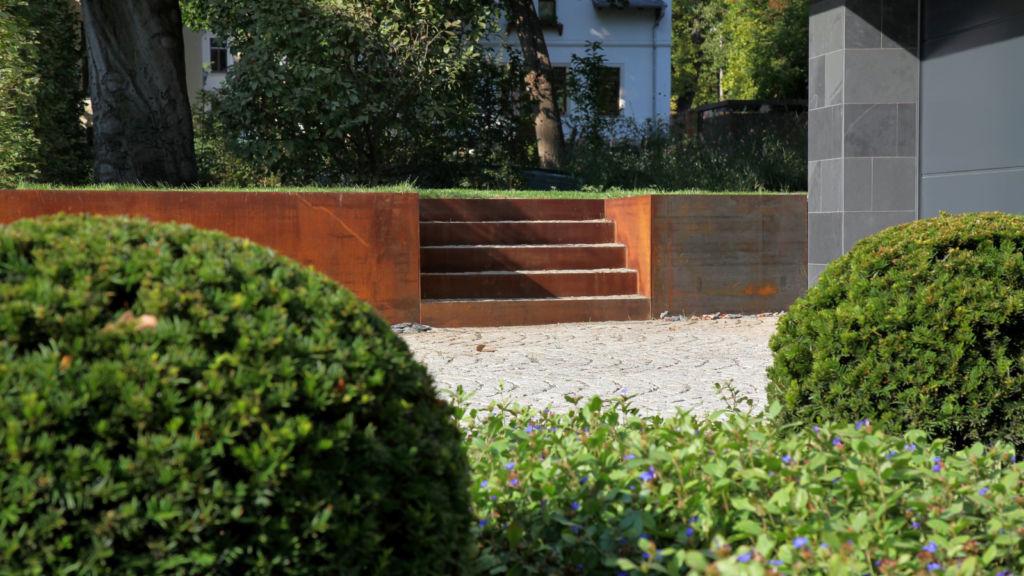 Minimalismus im Garten