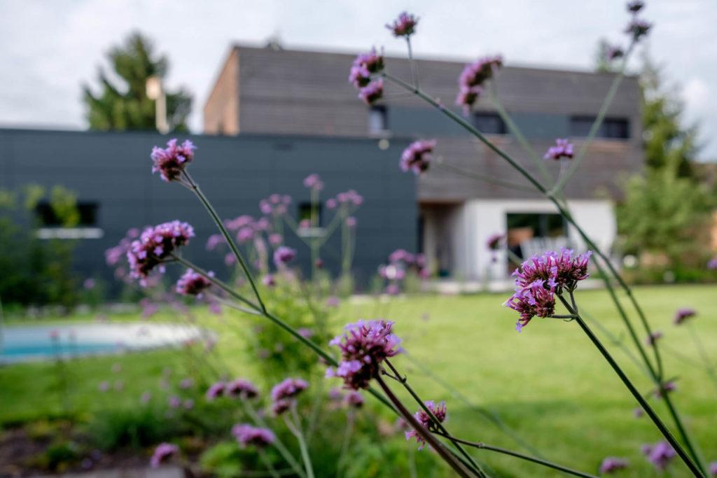 Formaler Familiengarten