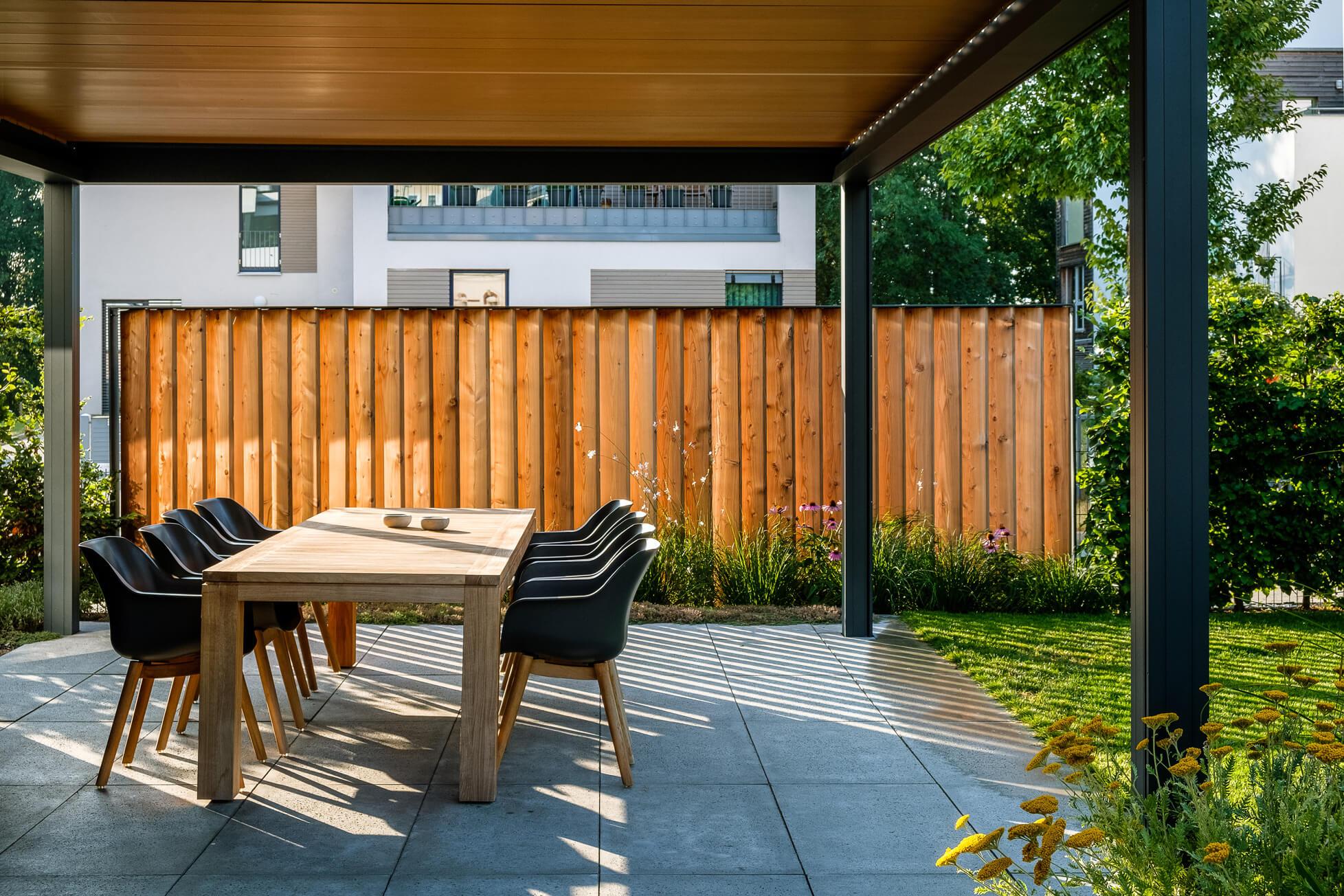 Garten Mit Klaren Linien Gartenmanufaktur Nussler