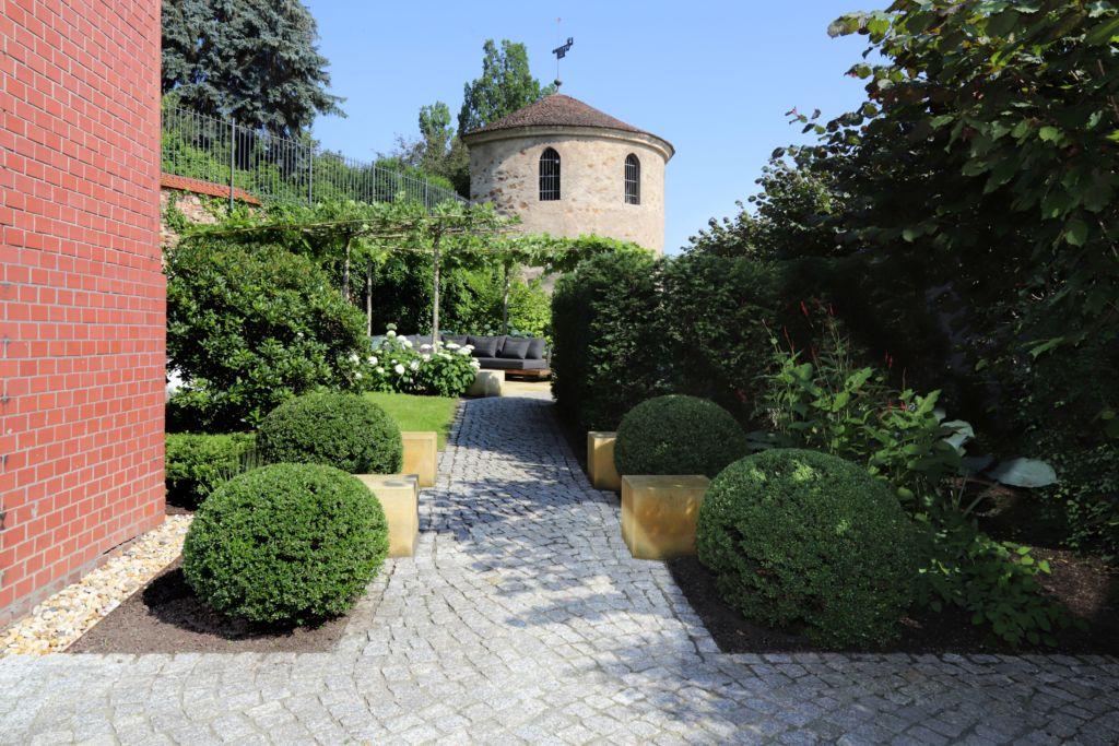 Garten mit historischem Bezug